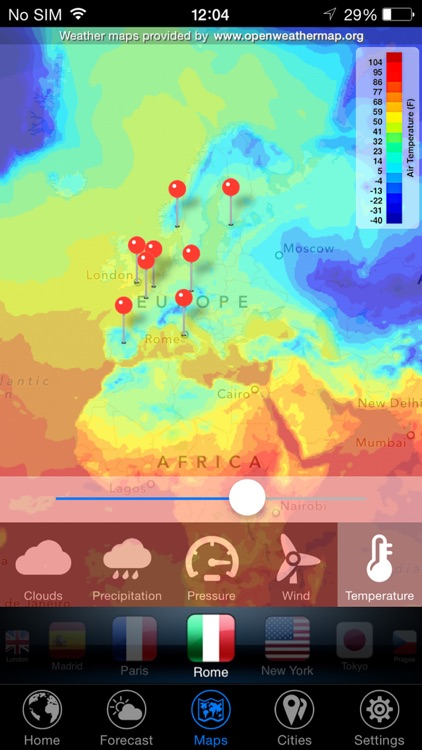 3D Earth ° - Weather Forecast screenshot-4