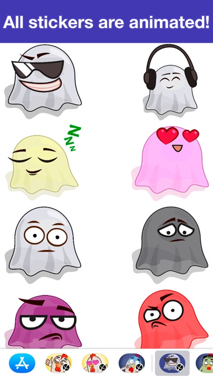 Ghosts animated