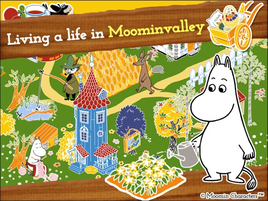MOOMIN Welcome to Moominvalley для iPad
