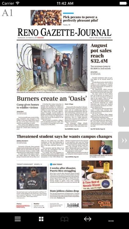 Reno Gazette-Journal Print