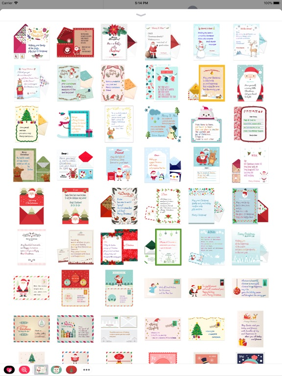 Christmas Letter with Message screenshot 7