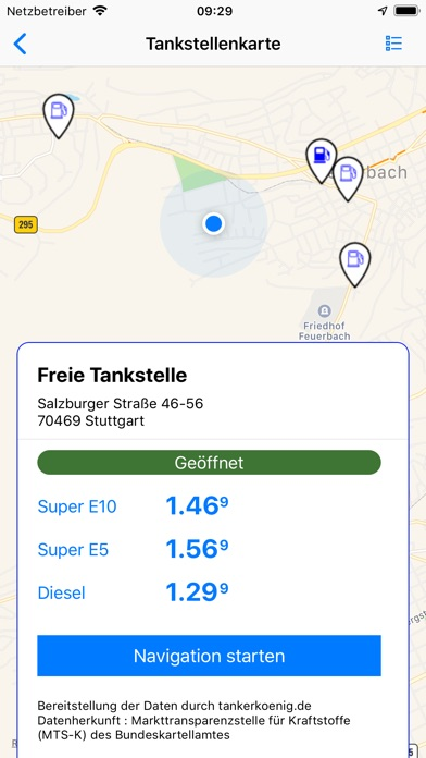 Screenshot for Sprit-Rechner Plus in Germany App Store
