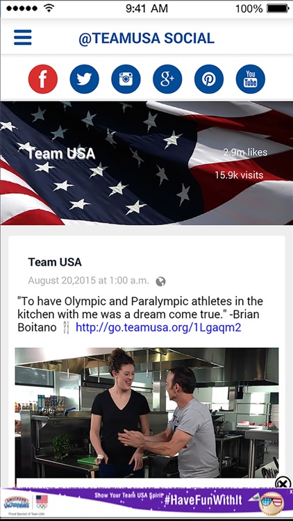 Team USA App screenshot-2