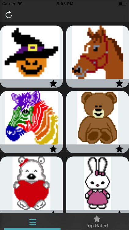 Color by Number - Pixel Art screenshot-3