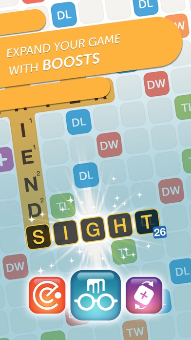 Screenshot of Words With Friends 2-Word Game App