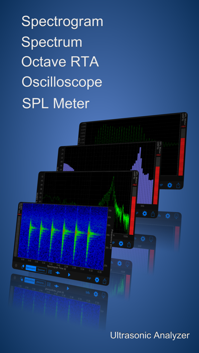 Ultrasonic Analyzer screenshot two