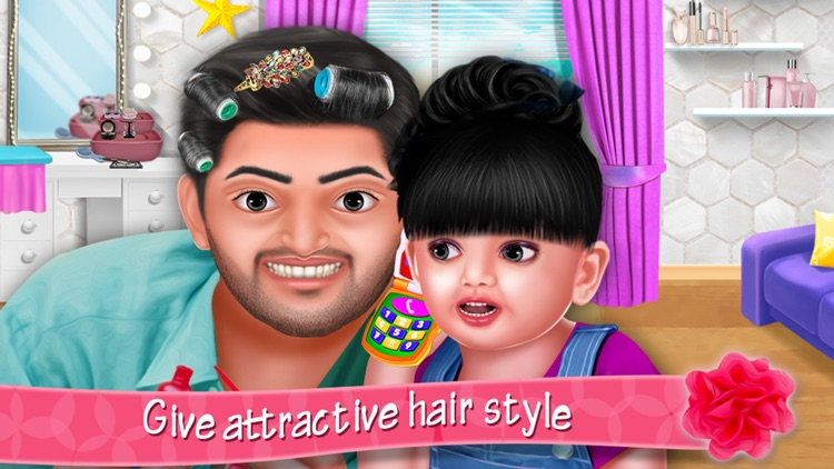Aadhya's Spa Makeover Day With Daddy