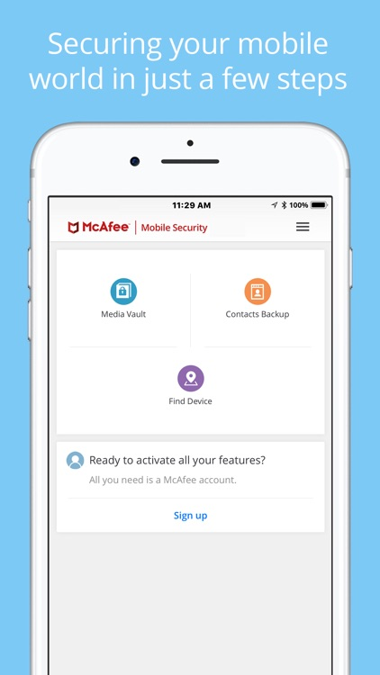McAfee Mobile Security screenshot-1