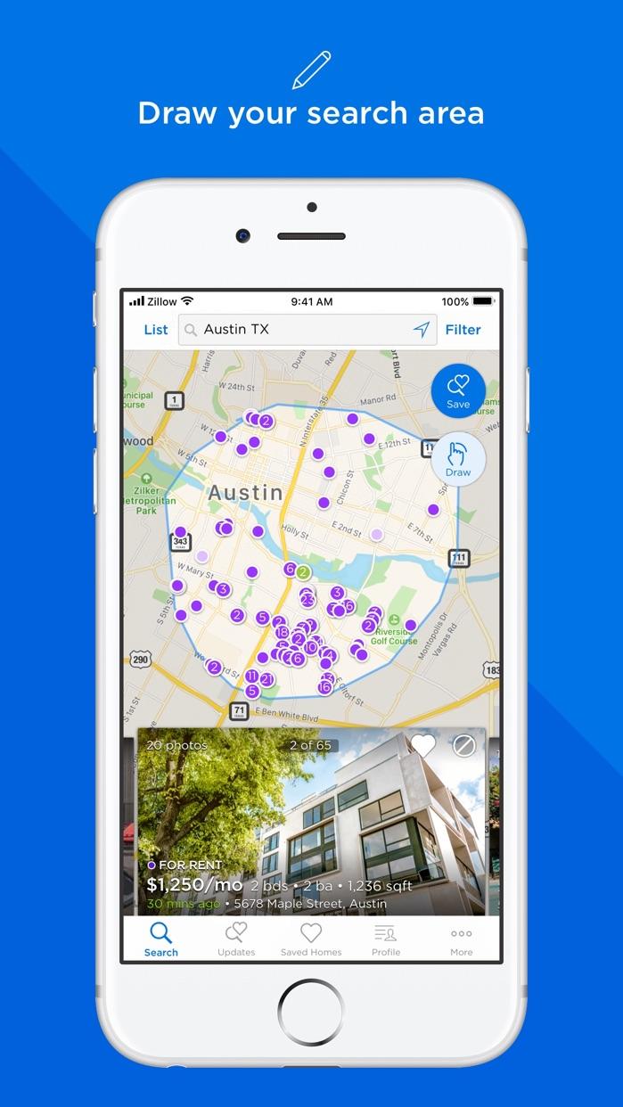 Zillow Rentals Screenshot