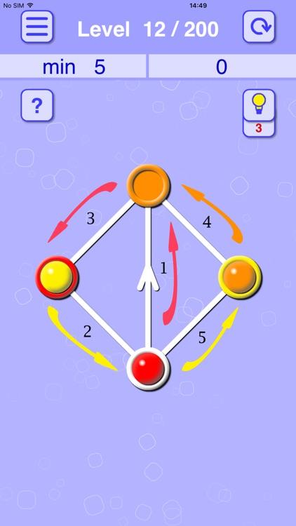 Balls Line Holes: Logic Game screenshot-3