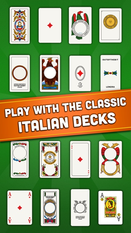 Rubamazzo - Classic Card Games screenshot-2