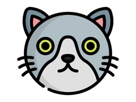 Bring your messages to life by accessing an amazing collection of Kitty Cat stickers with a single touch