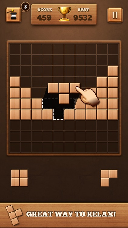 Fill Wooden Block: Wood Puzzle screenshot-3