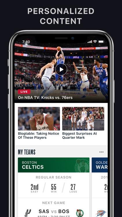 NBA: Official App screenshot-0