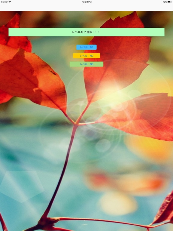 Kotoba N1 - N3 Screenshots