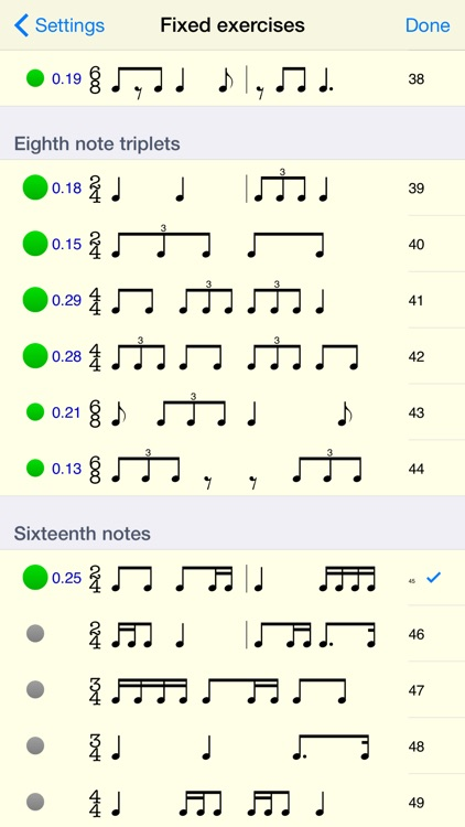 Rhythm Sight Reading Trainer screenshot-3