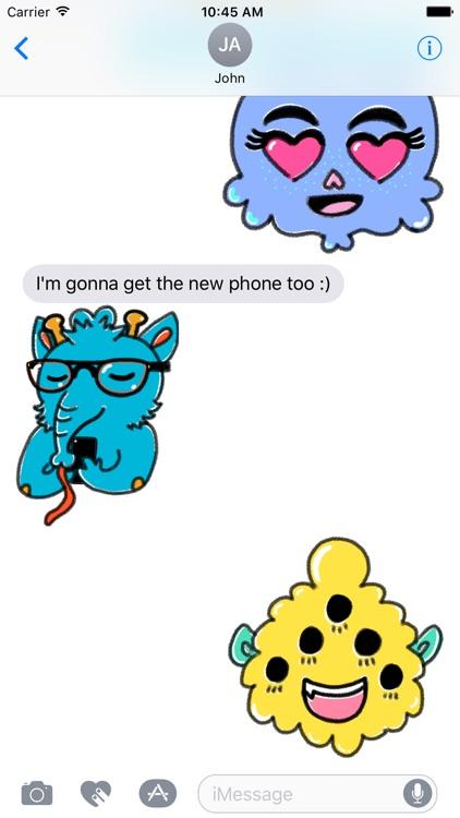 Monstermoji - Emoji Stickers screenshot-3