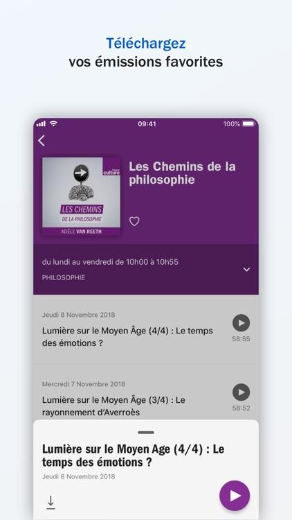 Radio France - direct, podcast screenshot-5