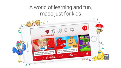 Screenshot for YouTube Kids in Philippines App Store