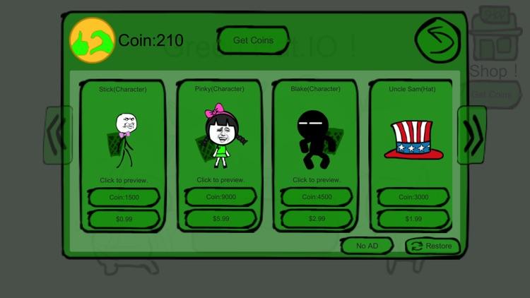Green men's Battle Royale screenshot-4