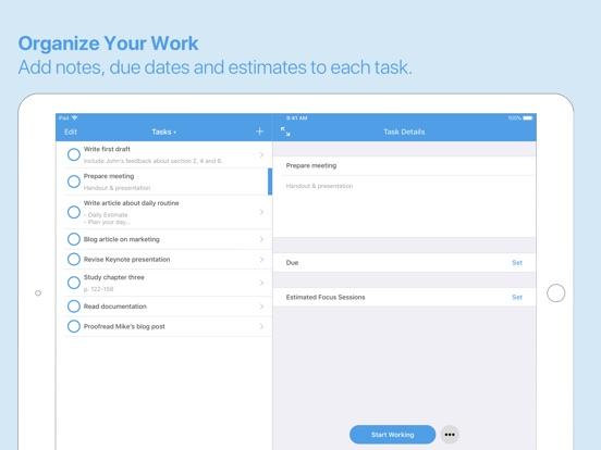 Focus - Productivity Timer Screenshot