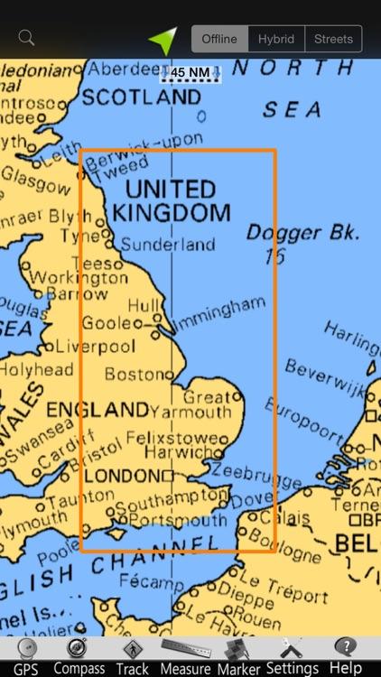 England E. GPS Nautical Charts screenshot-4