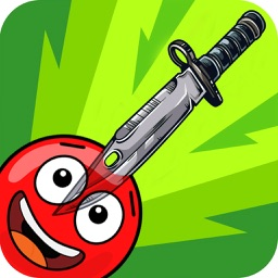 Frenzy Red Ball : Knife Escape