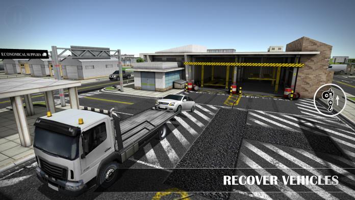 Drive Sim-ulator 3D 2016 Lite Screenshot