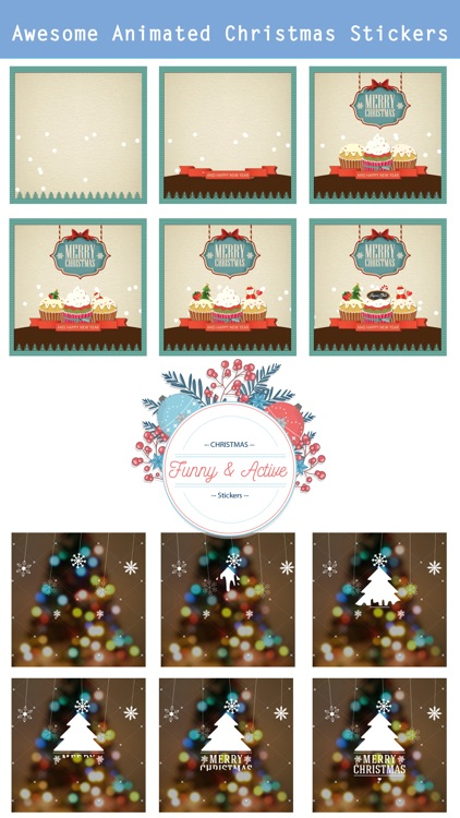 Animated Christmas Stickers - screenshot-1