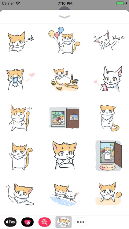 Jet Cat Sticker Pack