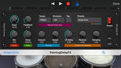 Panning Delay AUv3 Plugin screenshot 2