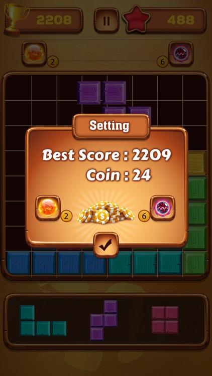 Block Puzzle Wooden screenshot-4