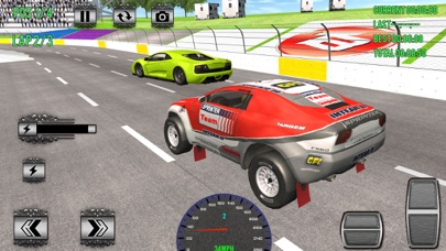 Superheroes Car Racing Sim Pro Screenshot 5