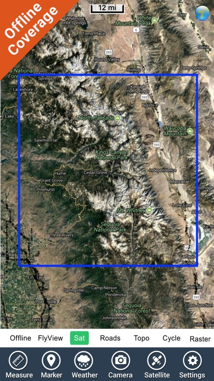 Sequoia - Kings National Park gps and outdoor map screenshot-4