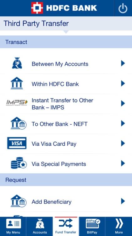 HDFC Bank Mobile App screenshot-4