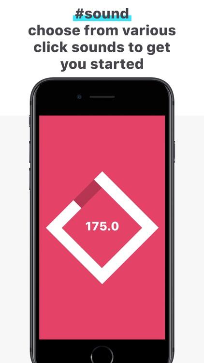 clickTrack - BPM Counter screenshot-3