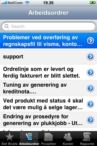 Screenshot of InSoft Mobil