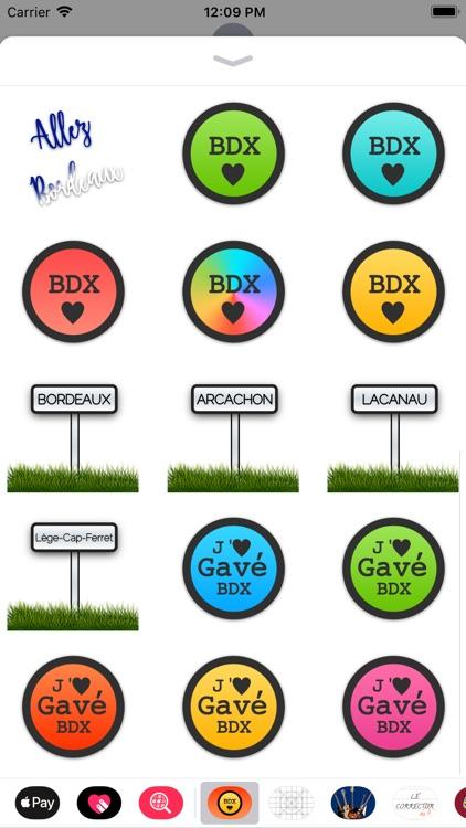 Stickers de Bordeaux screenshot-3