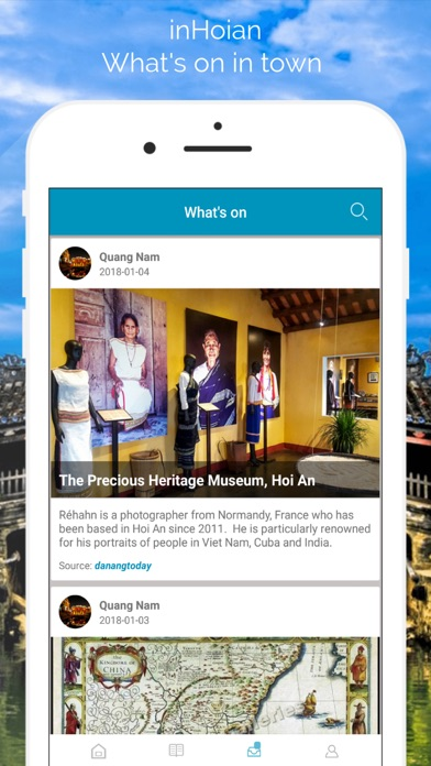 inHoiAn Quang Nam Travel Guide screenshot four