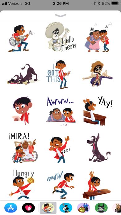 Pixar Stickers: Coco screenshot 1