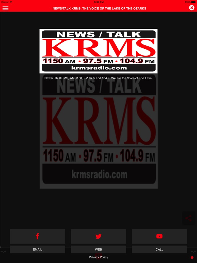 KRMS on the App Store