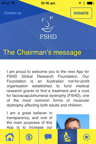 FSHD - Find the Cure screenshot 2