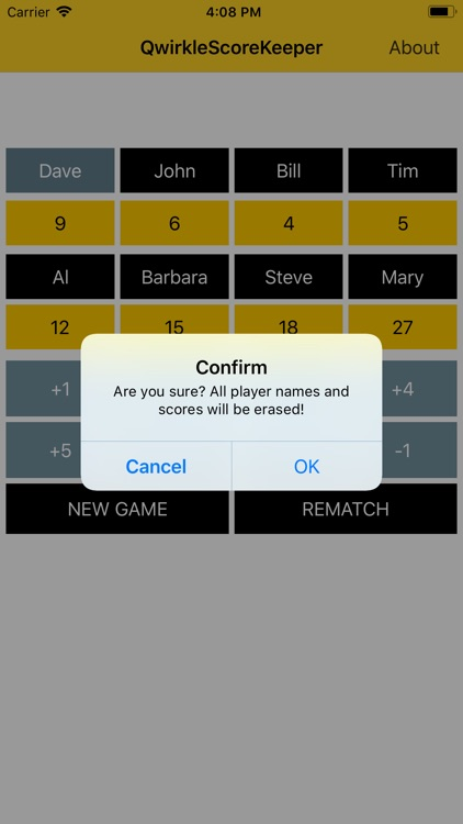 Qwirkle Score Keeper screenshot-4