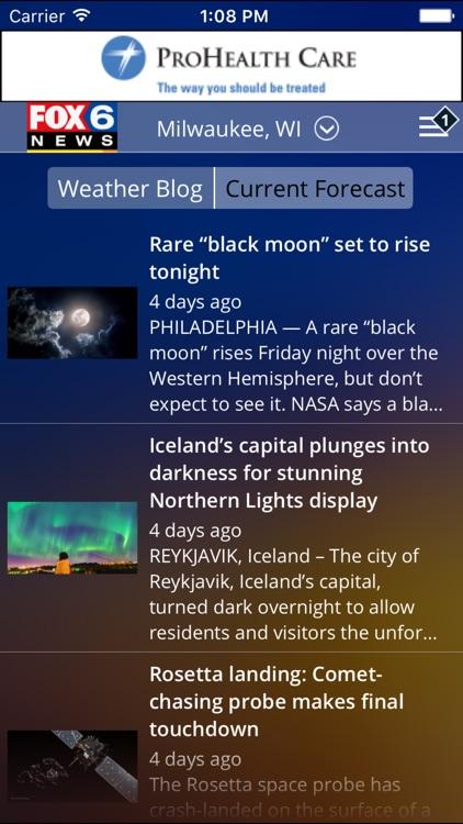 FOX6 Milwaukee Weather