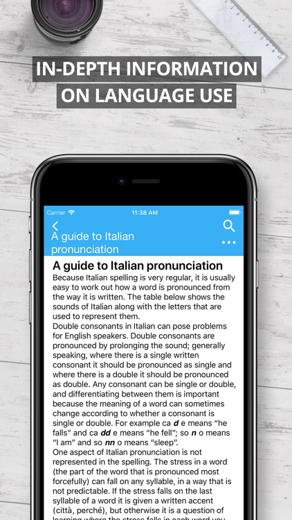 Oxford Italian Dictionary 2017 screenshot-4