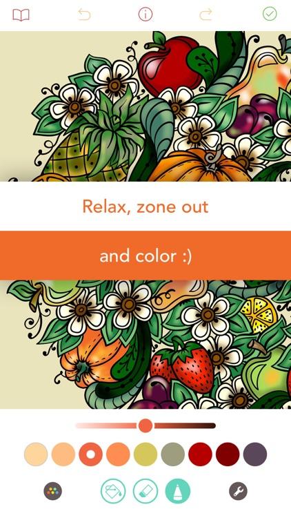 Pigment - Adult Coloring Book screenshot-4