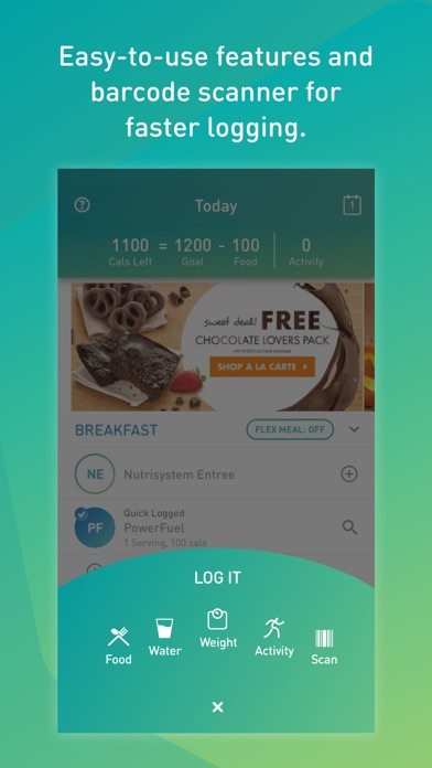 How do you sync fitbit with nutrisystem numi