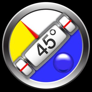 Clinometer + bubble level app