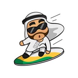 Khaliji saudi stickers