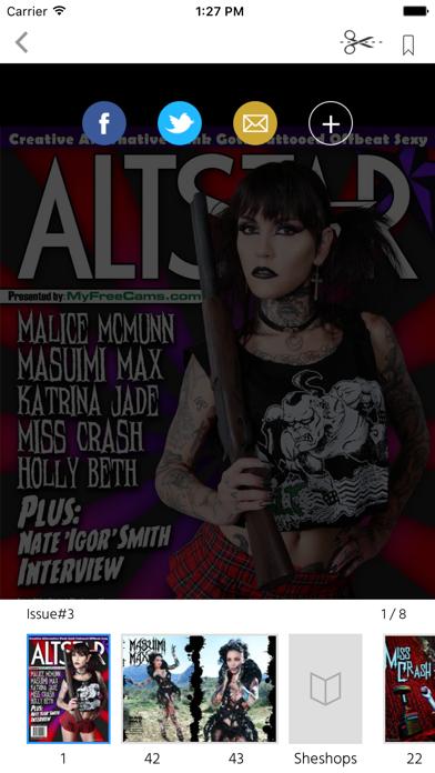 AltStar Magazine screenshot 2